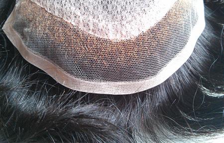 Latest Products ---- Silk Top Hidden Knots Toupee