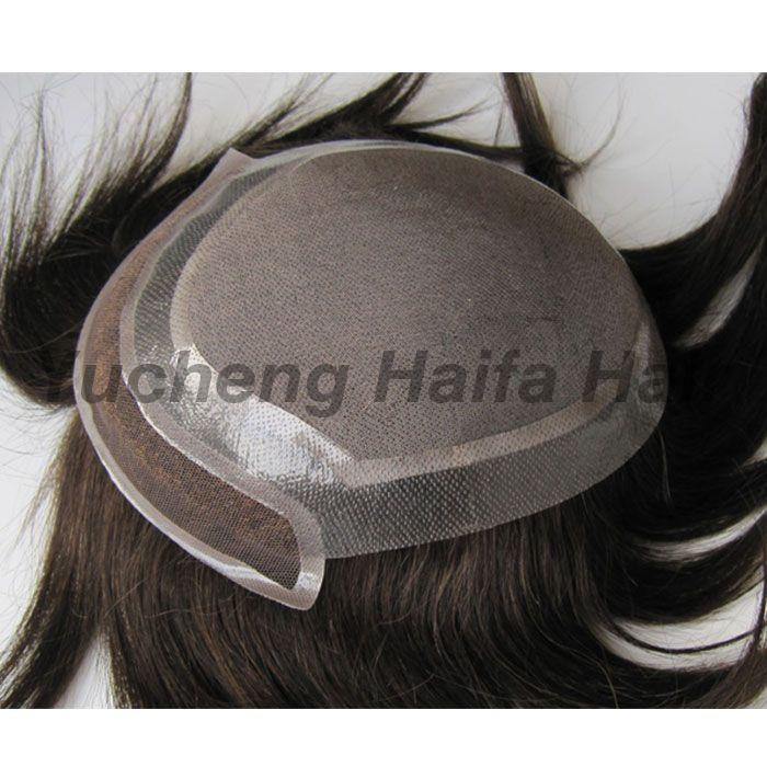 Human Hair Toupee HF9001