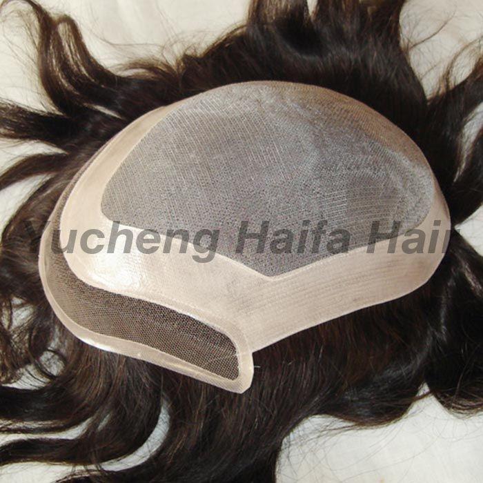 Human Hair Toupee F9002