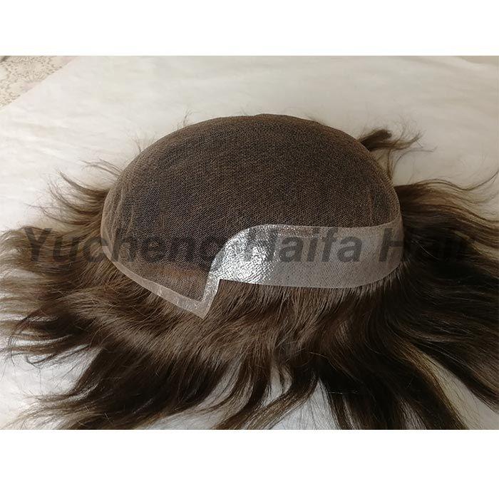 Human Hair Toupee HF9005