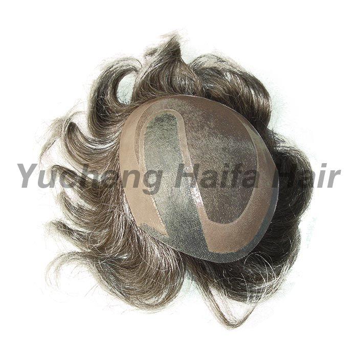 Human Hair Toupee HF9006