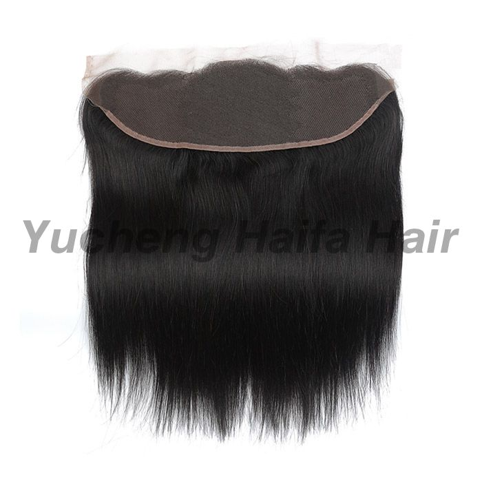 Silky Straight Human Hair Lace Frontal