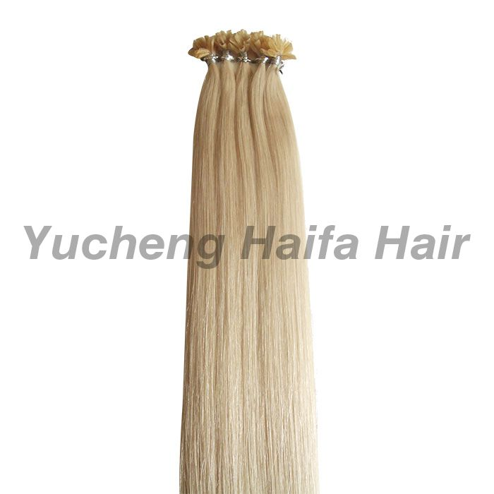 Pre-Bonded U Tip Hair Extensions HF9304