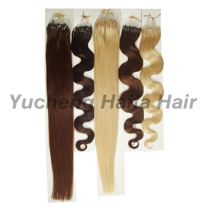 Micro Ring Looped Hair Extensions HF9305